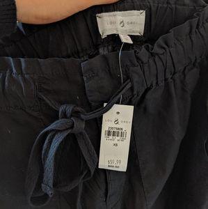 Lou& Grey cropped drawstring pants